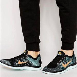 Nike 4.0 FLYKNIT Running bare foot ride 4.0